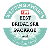 Best Bridal Spa Package from The Spa Awards